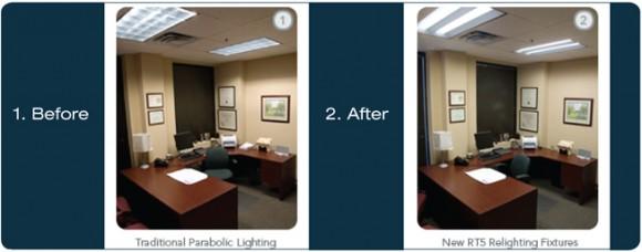 Energy Efficient Lighting Retrofit