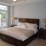 Master Bedroom, downtown Albany luxury condo