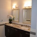 Master Bathroom, downtown Albany luxury condo