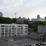 View from Great Room, downtown Albany condo