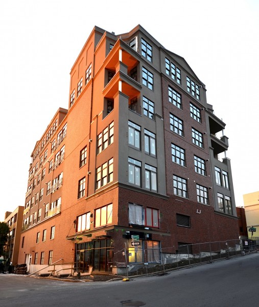 downtown albany condominiums nearing completion