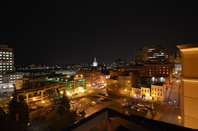 Downtown Albany Views At Night The Rosenblum Companies