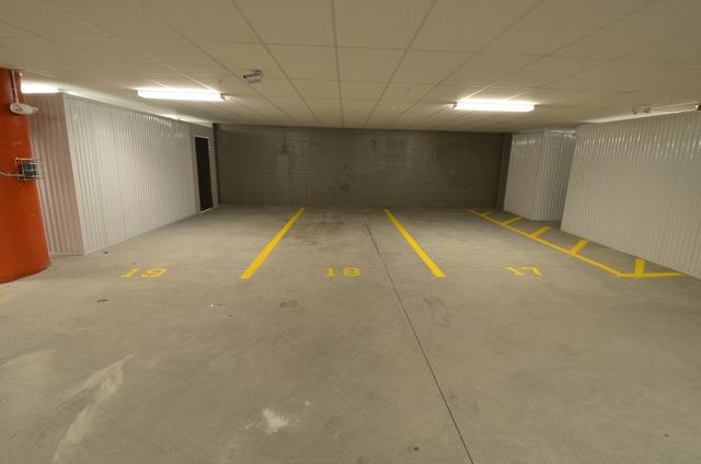 indoor heated garage