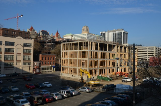 The Monroe Apartments in Albany, NY