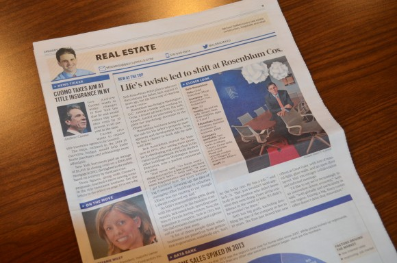 Seth Rosenblum New CEO – Albany Business Review