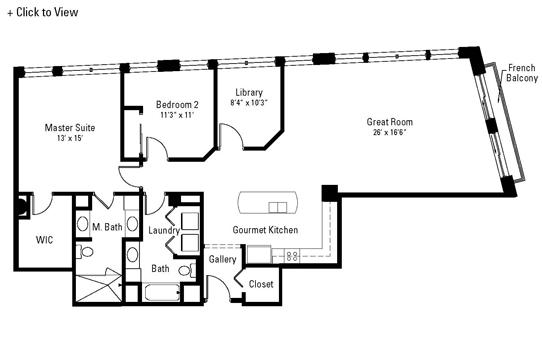 402 Stuyvesant Floor Plan
