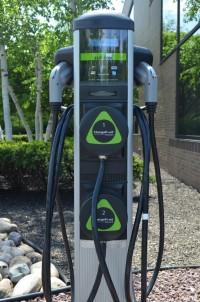 Leviton charging station at 200 Great Oaks