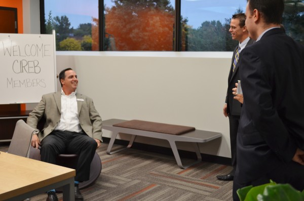 Brokers trying out Herman Miller's new Spun Chair