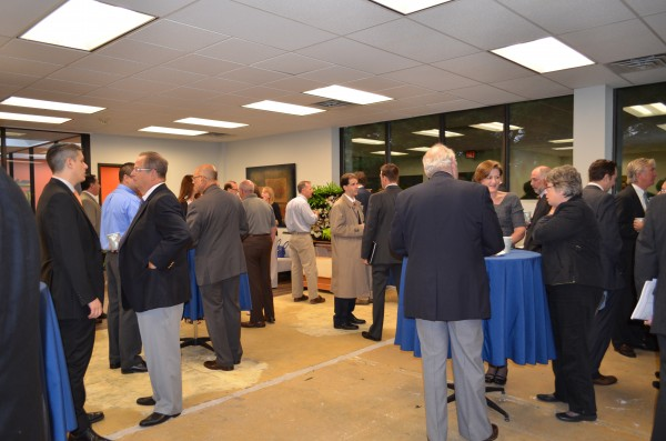 CIREB Members networking at Corporate Plaza.