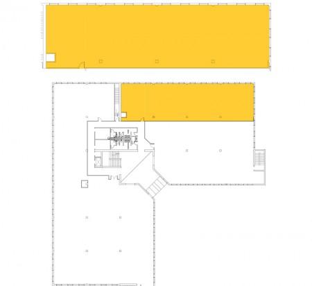 4,622 SF 2nd Floor Office Space Floor Plan