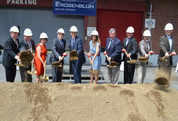 Record Building Groundbreaking