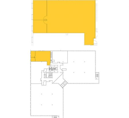 1,934 SF 2nd Floor Office Space Floor Plan