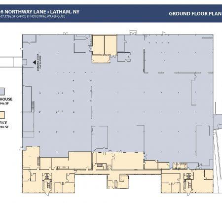 67,379 SF Industrial Space Floor Plan