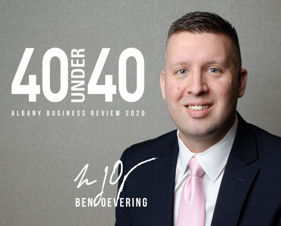 "Rosenblum's Ben Oevering named ""40 Under 40"""