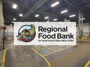 Regional Food Bank Warehouse Donation COVID-19